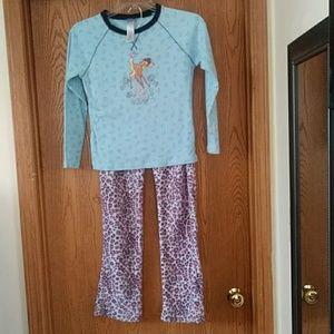 2 Piece Pajamas Large Ladies